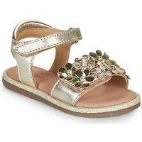 Boty Dívčí Sandály Mod'8 PARLOTTE Zlatá
