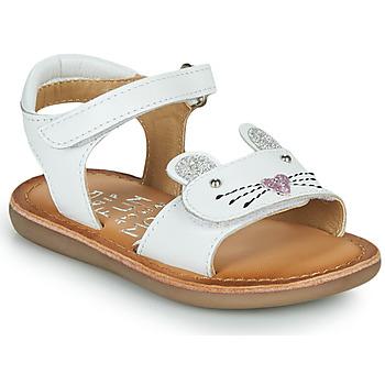 Boty Dívčí Sandály Mod'8 CLOONIE Bílá