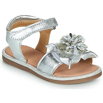 Boty Dívčí Sandály Mod'8 PAXILLA Stříbrná