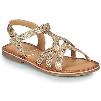 Boty Dívčí Sandály Mod'8 CANISA Zlatá