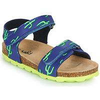 Boty Chlapecké Sandály Mod'8 KOURTIS Modrá / Zelená
