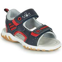 Boty Chlapecké Sandály Mod'8 TOPPY Tmavě modrá / Červená