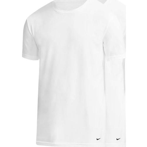 Textil Muži Trička s dlouhými rukávy Nike 0000KE1010 Bílá