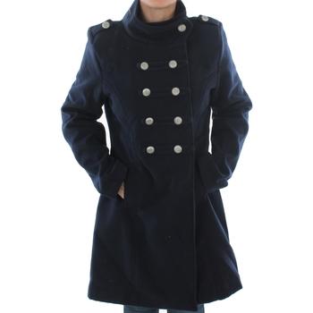 Textil Ženy Kabáty Made In Italia ELENA MARINE Azul marino