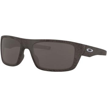 Hodinky & Bižuterie Muži sluneční brýle Oakley OO9367-2060 GREY CARBON Gris