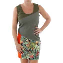 Textil Ženy Krátké šaty Smash CADIZ DRESS ARMY 38 Verde