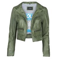 Textil Ženy Kožené bundy / imitace kůže Oakwood TRISH Zelená