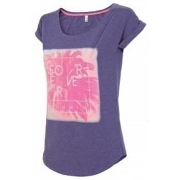 Textil Ženy Trička s krátkým rukávem 4F Womens fialová