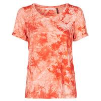 Textil Ženy Trička s krátkým rukávem Les Petites Bombes BRISEIS Oranžová