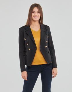Textil Ženy Saka / Blejzry Les Petites Bombes AGATHE Černá