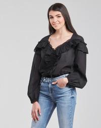 Textil Ženy Halenky / Blůzy Liu Jo WA1084-T5976-22222 Černá