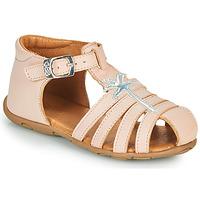Boty Dívčí Sandály GBB ANAYA Růžová