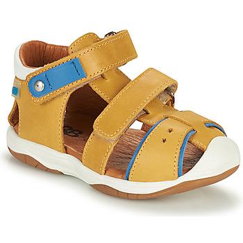 Boty Chlapecké Sandály GBB EUZAK Žlutá