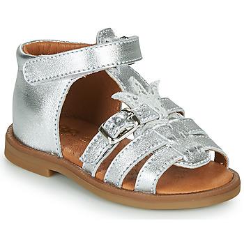 Boty Dívčí Sandály GBB CARETTE Stříbrná