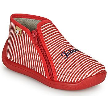 Boty Dívčí Papuče GBB APOLA Červená