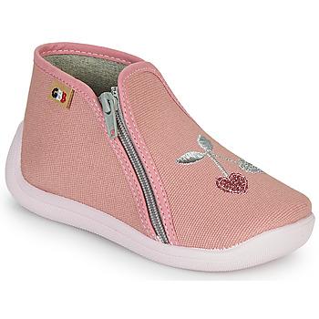 Boty Dívčí Papuče GBB APOLA Růžová