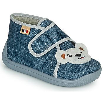 Boty Chlapecké Papuče GBB APOSTIS Modrá