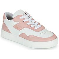 Boty Dívčí Nízké tenisky BOSS PAOLA Bílá / Růžová