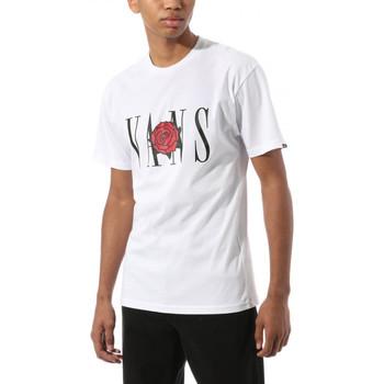 Textil Trička s krátkým rukávem Vans Kw classic rose s Bílá