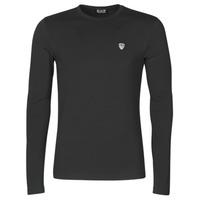 Textil Muži Trička s dlouhými rukávy Emporio Armani EA7 8NPTL9-PJ03Z-1200 Černá