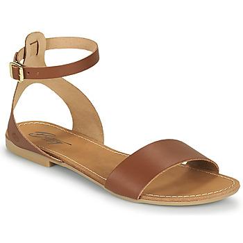 Boty Ženy Sandály Betty London GIMY Velbloudí hnědá