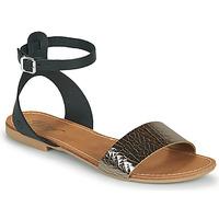 Boty Ženy Sandály Betty London GIMY Černá / Ocelová