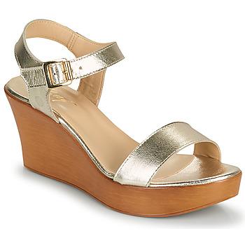 Boty Ženy Sandály Betty London CHARLOTA Zlatá