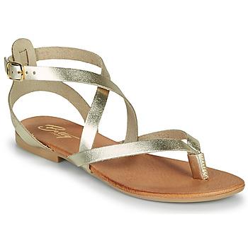Boty Ženy Sandály Betty London OPALACE Zlatá