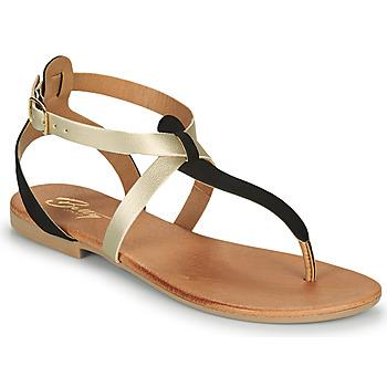Boty Ženy Sandály Betty London OVERNE Černá / Zlatá