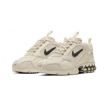 Boty Nízké tenisky Nike Nike Zoom Spiridon x Stussy Fossil Fossil/ BLack
