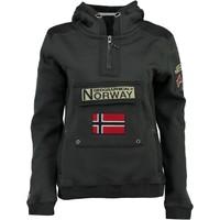 Textil Chlapecké Mikiny Geographical Norway GYMCLASS Šedá