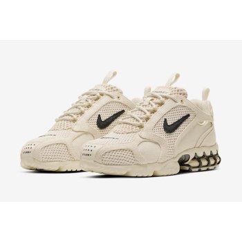 Boty Nízké tenisky Nike Zoom Spiridon x Stussy Fossil Fossil/ BLack