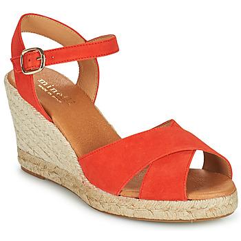 Boty Ženy Sandály Minelli OMELLA Červená