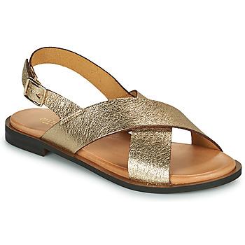 Boty Ženy Sandály Minelli DONA Zlatá