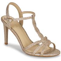 Boty Ženy Sandály Minelli CHADA Zlatá