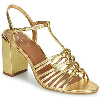 Boty Ženy Sandály Minelli THERENA Zlatá