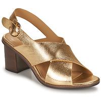 Boty Ženy Sandály Minelli THIVIYA Zlatá