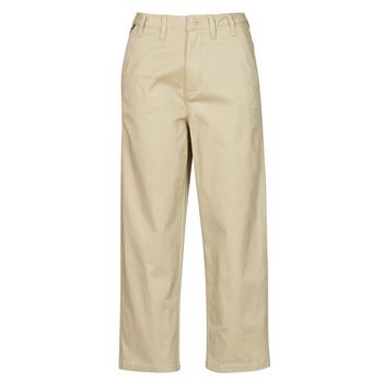 Textil Ženy Mrkváče Tommy Jeans TJW HIGH RISE STRAIGHT Béžová