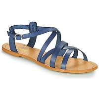 Boty Ženy Sandály So Size IDITRON Tmavě modrá