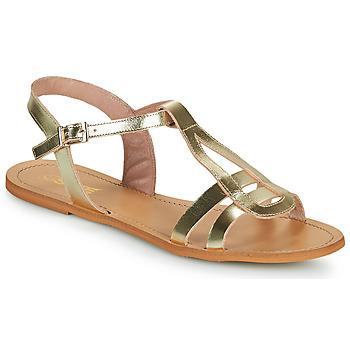 Boty Ženy Sandály So Size DURAN Zlatá