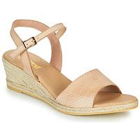 Boty Ženy Sandály So Size OTTECA Béžová
