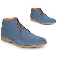 Boty Muži Kotníkové boty So Size OOLOO Modrá