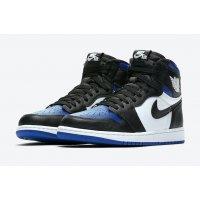 Boty Kotníkové tenisky Nike Air Jordan 1 Game Royal Black/White-Game Royal-Black