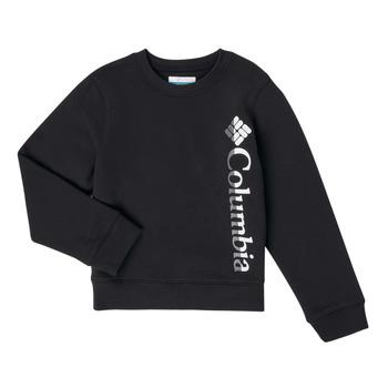 Textil Dívčí Mikiny Columbia COLUMBIA PARK FRENCH TERRY CREW Černá