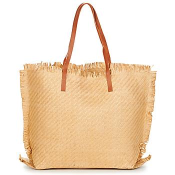 Taška Ženy Velké kabelky / Nákupní tašky Moony Mood ODANE Béžová