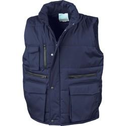 Textil Muži Prošívané bundy Result Doudounes Sans Manches  Matelassé Ripstop bleu royal