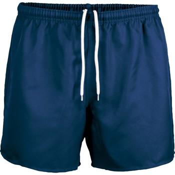 Textil Kraťasy / Bermudy Proact Short Praoct Rugby bleu royal/bleu