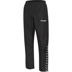 Textil Děti Teplákové kalhoty Hummel Pantalon enfant  hmlAUTHENTIC Micro noir/blanc