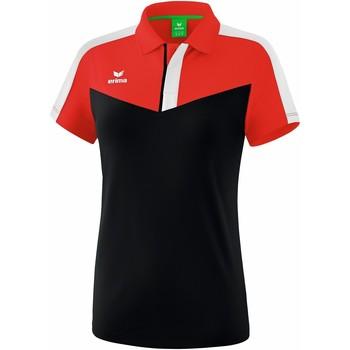 Textil Ženy Polo s krátkými rukávy Erima Polo femme  Squad rouge/noir/blanc