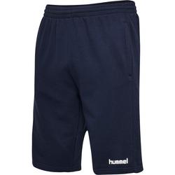 Textil Muži Kraťasy / Bermudy Hummel Short  hmlGO cotton bleu marine